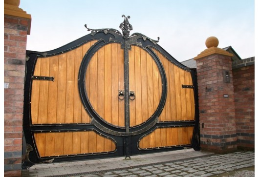 Ferforje Kapı Büküm